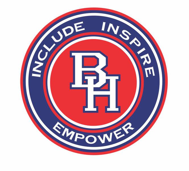 BHPS Logo, with Motto