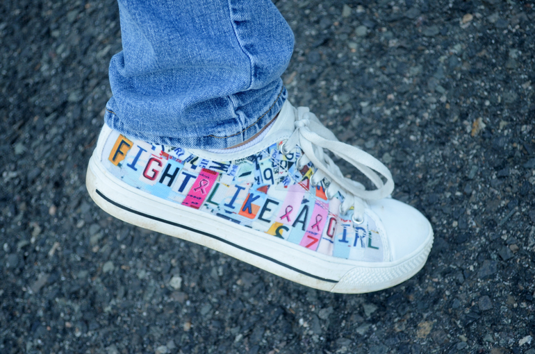 Fight Like a Girl Sneaker.png