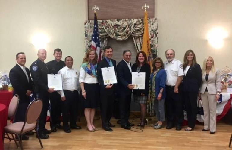 Officials laud first responders at 'Appreciation Night'