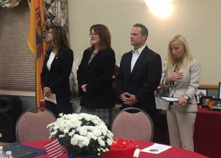 Ceremony for first responders