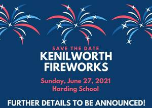 Kenilworth Recap: Fireworks, Cannibis Sales in Kenilworth, Waffle Cone with a Cop & More