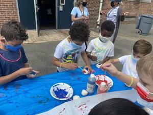 Pok and Washington Elementary School Students Enjoy Field Day