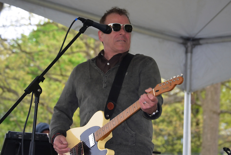 Glenn Stuart of BStreet Band