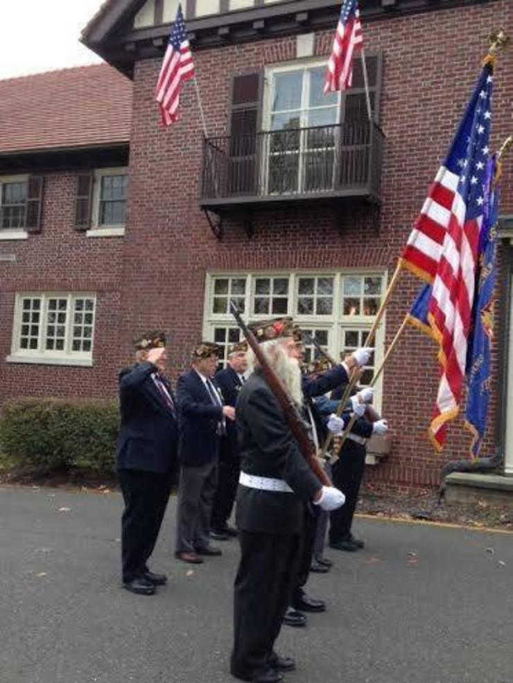 Display by veterans