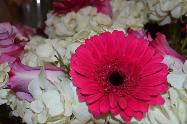 Flower arrangement at Apple Blossom Flower Shop in Scotch Plains