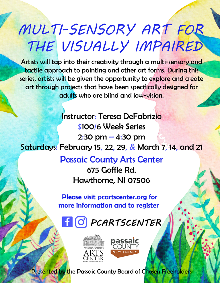 Flyer, Multi-Sensory Art for the Visually Impaired, 2020.png