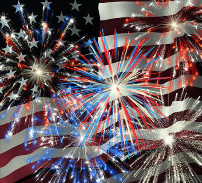 In Honor of July 4, Flags to Return to Full Staff
