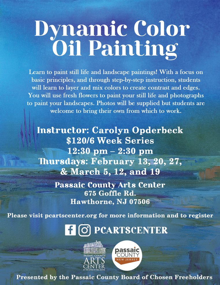 Flyer, Dynamic Color Oil Painting, 2020.png