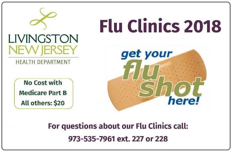 Flu Clinics 2018 Card