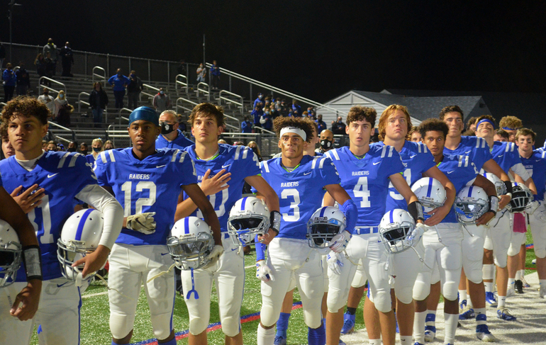 Scenes from Scotch Plains-Fanwood's First Friday Night Lights Game