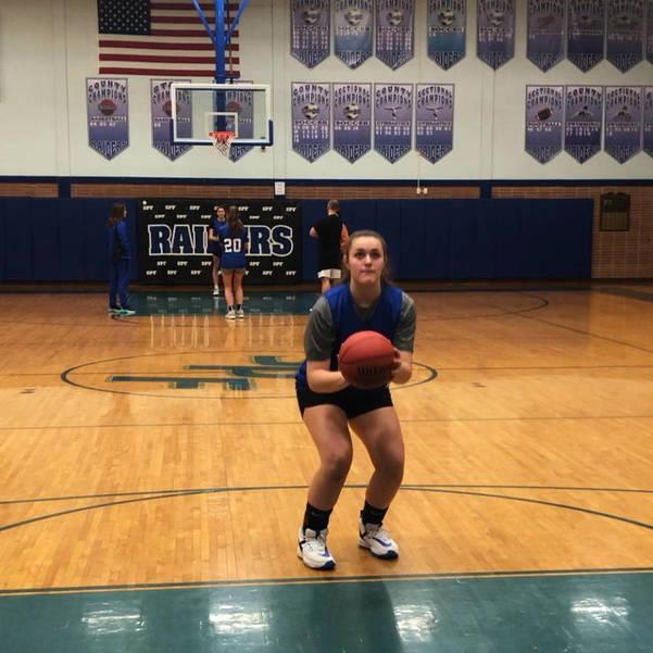 Scotch Plains-Fanwood girls basketball team