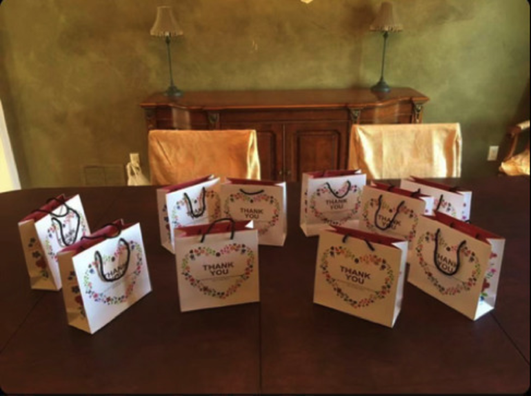 Livingston Students Send Gift Bags to Saint Barnabas Workers on National Doctor's Day