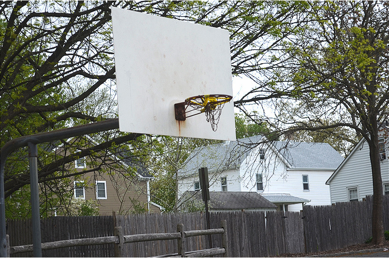 Forest Road Park in Fanwood - basketball courts in need of repair.png