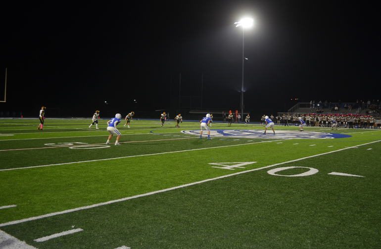Scenes from Scotch Plains-Fanwood's first Friday Night Lights game.