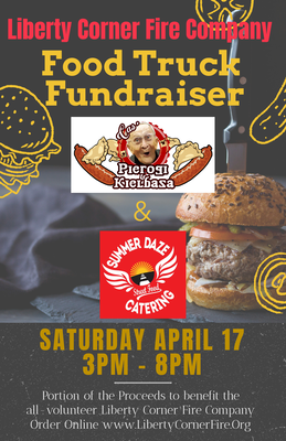 Liberty Corner Fire Co. to Host Food Truck Fundraiser Saturday