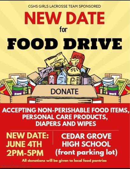 Top story 13b2293e3e08fe8f827e food drive new date