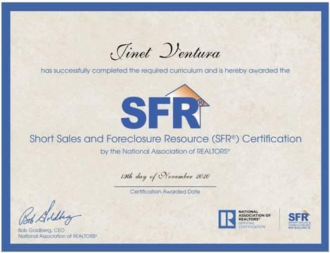 Top story df9cb711cf98149a5908 foreclosure short sale specialist certificate jinet ventura jpeg