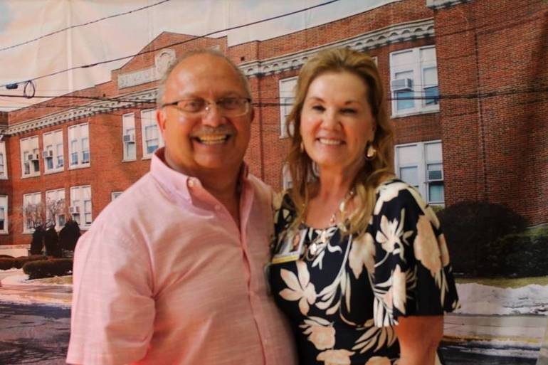 Friends Past and Present John Cafone and Debra Hesselbirg.jpg