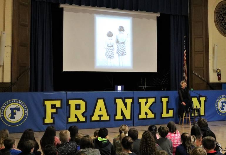 Franklin.Holocaust Presentation.JPG