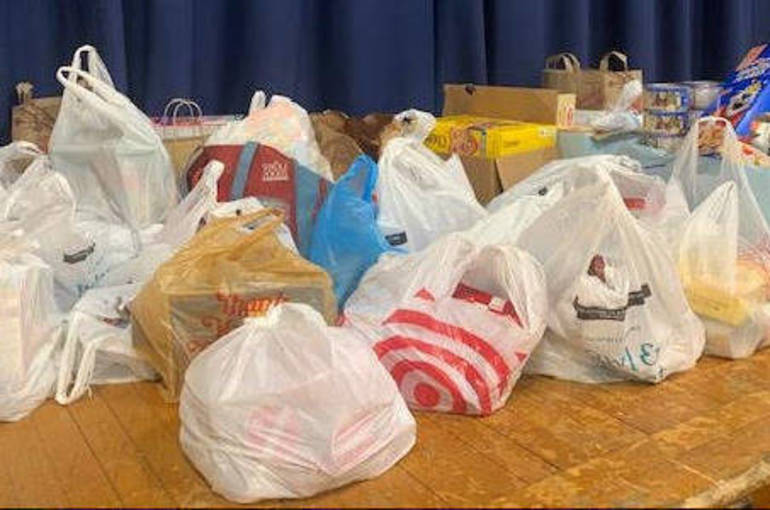 Franklin Early Act Food Drive
