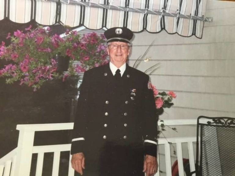 Red Bank Fireman Frank Sole – 70+ Years of Service