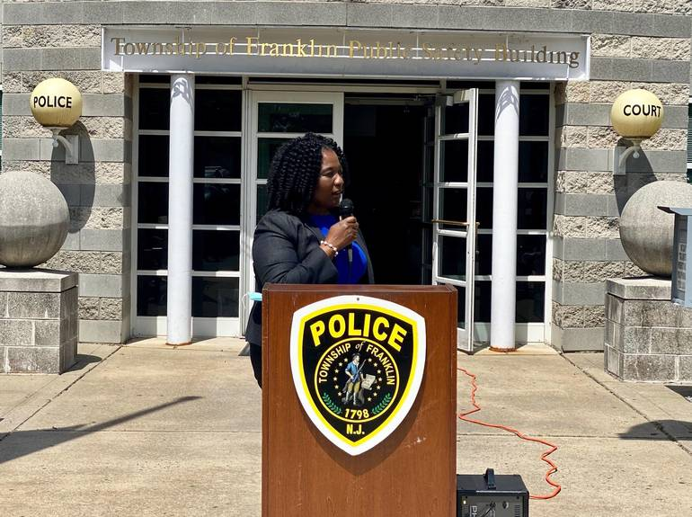 Franklin Township Public Safety Director Quovella M. Spruill.jpg