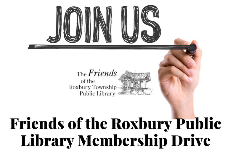 Friends of the Roxbury Public Library Membership Drive.png
