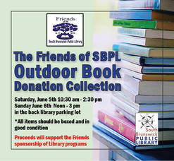 Book Donation Drive at the South Brunswick Public Library on June 5 & 6