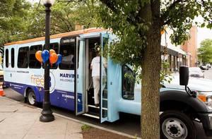 Princeton shuttle bus