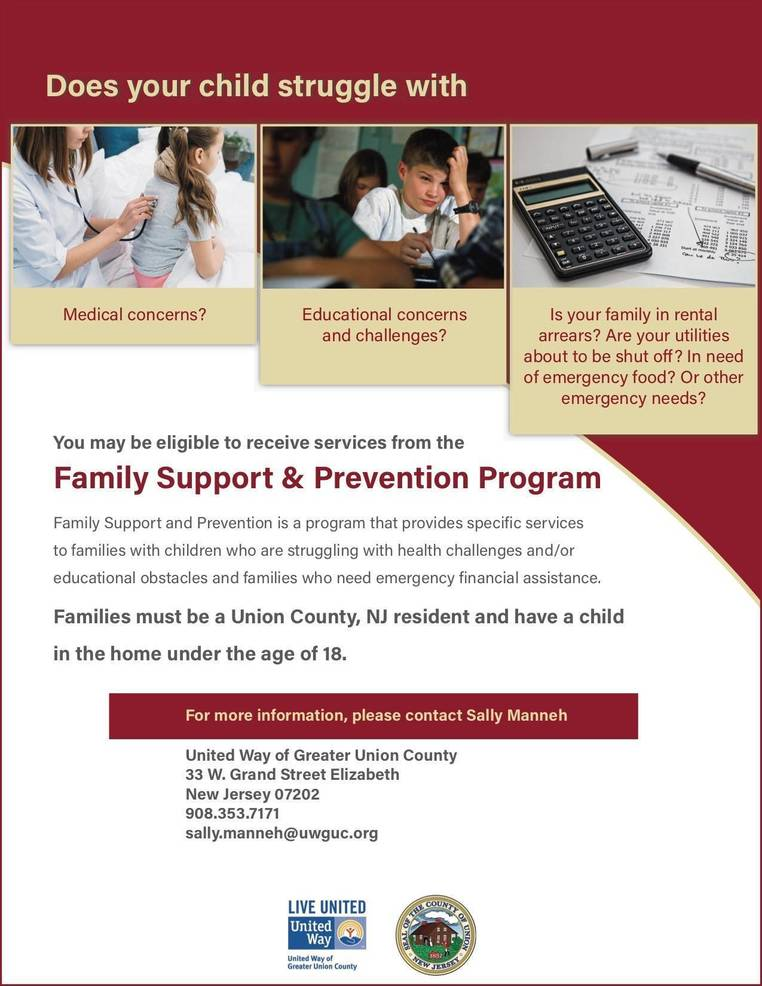 Family Support & Prevention Program | TAPinto