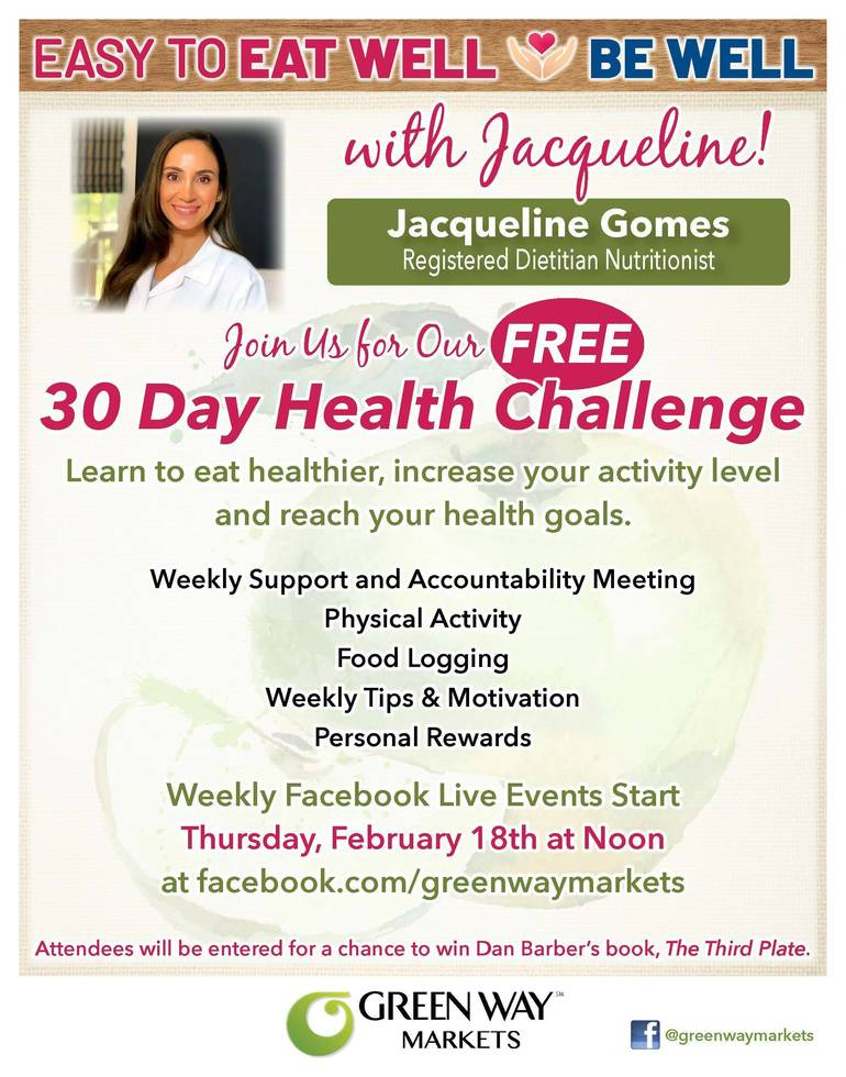 Green Way Markets of Cross River Launches 30-Day Health Challenge
