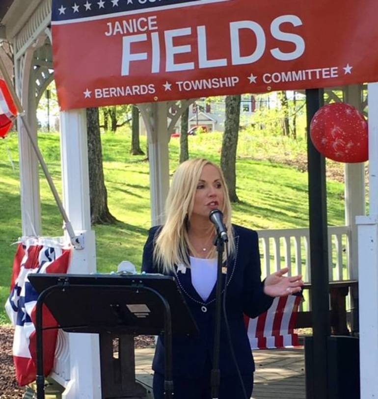 Janice Fields, Republican candidate for Bernards Township Committee