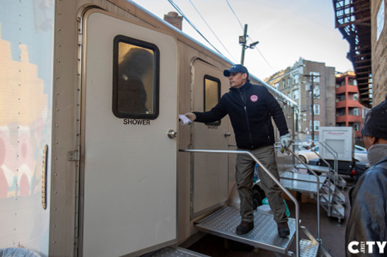 Mobile Showers, Laundry Facilities Aid in Jersey City's Fight Against COVID-19