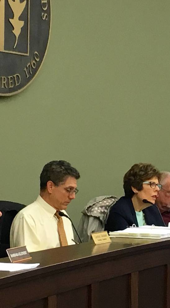 Planning Board Attorney Drill and Chairwoman Piedici