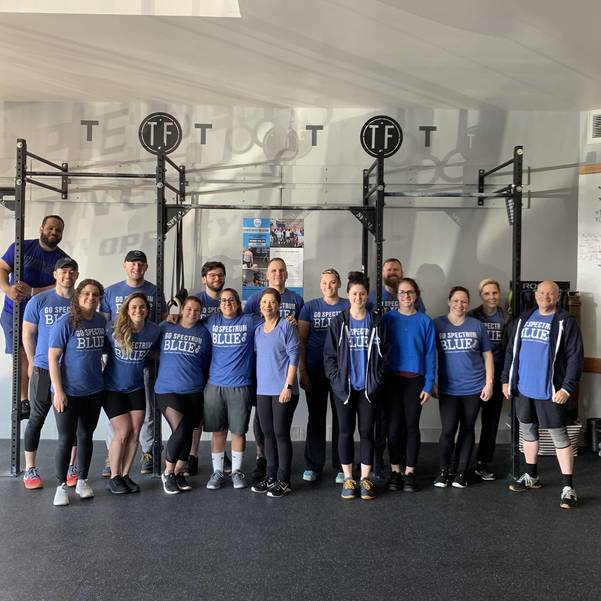 Members of Terrain Fitness Participate in Fitness Unites for Austism