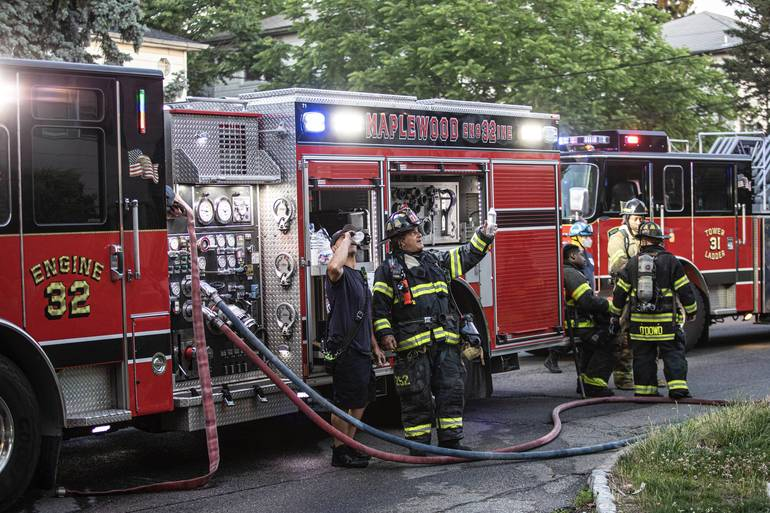 Maplewood Fire Department Responds to Smoke at Clinton Elementary