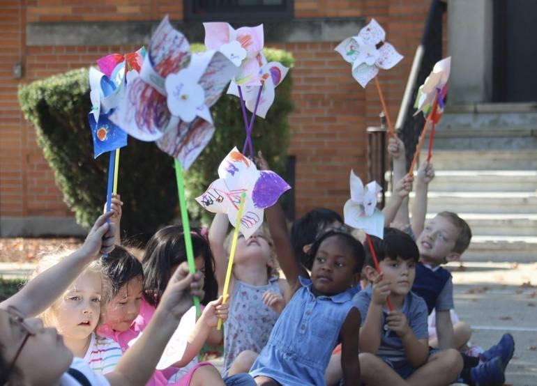 St. Bartholomew Academy in Scotch Plains Celebrates International Peace Day