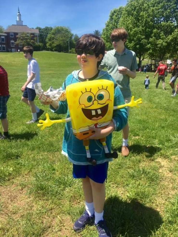 Sponge Bob and friend