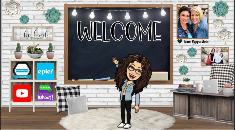 Coral Springs Teachers Create Cartoon Characters of Themselves in New Virtual Classrooms