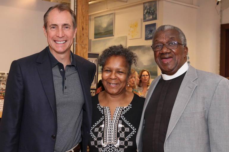 Gala John Klein, Gwen and Rev. Rosheuvel.JPG