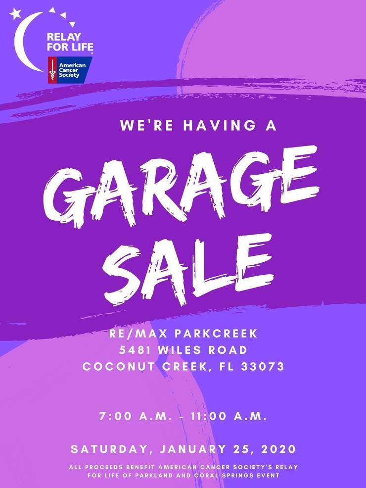 Garage Sale- RFL of Parkland and Coral Springs- January 2020.jpg