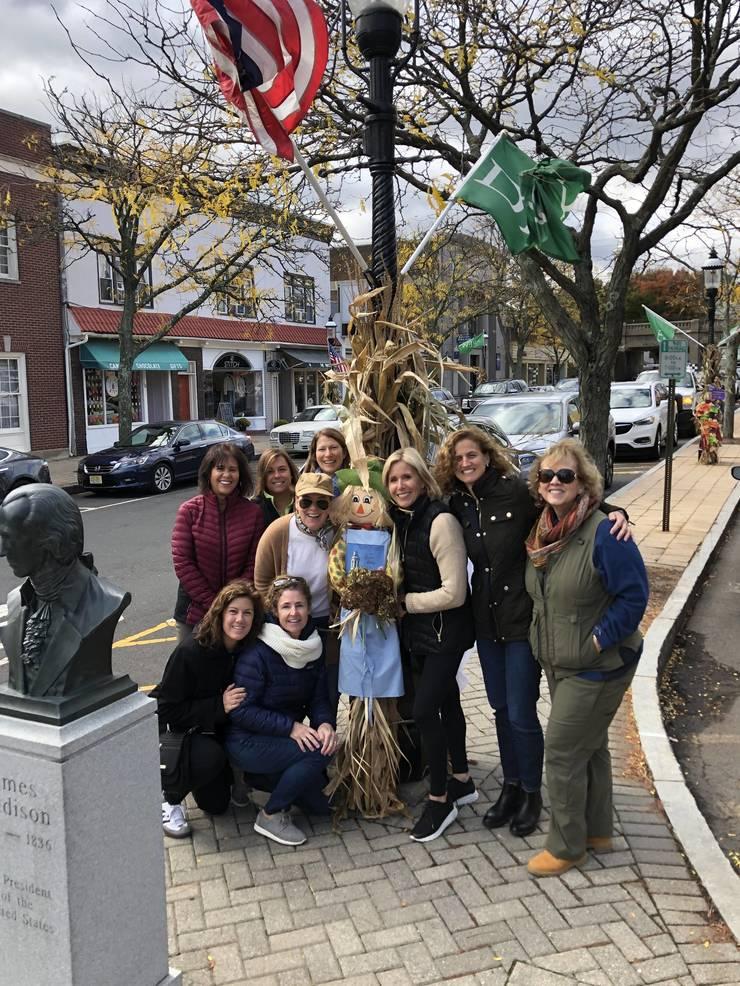 Garden Club of Madison Scarecrow install 2019.jpg