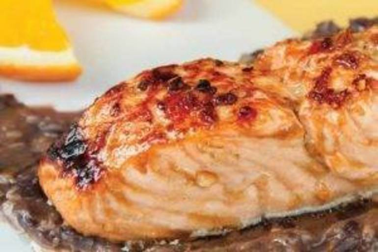 Heart Health Recipe: Garlic Salmon with Black Bean Sauce