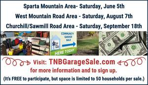 2021 Community Garage Sales Hosted By Team Nest Builder