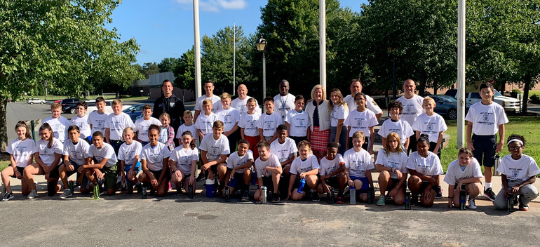 Get Fit with Fanwood's Finest group photo
