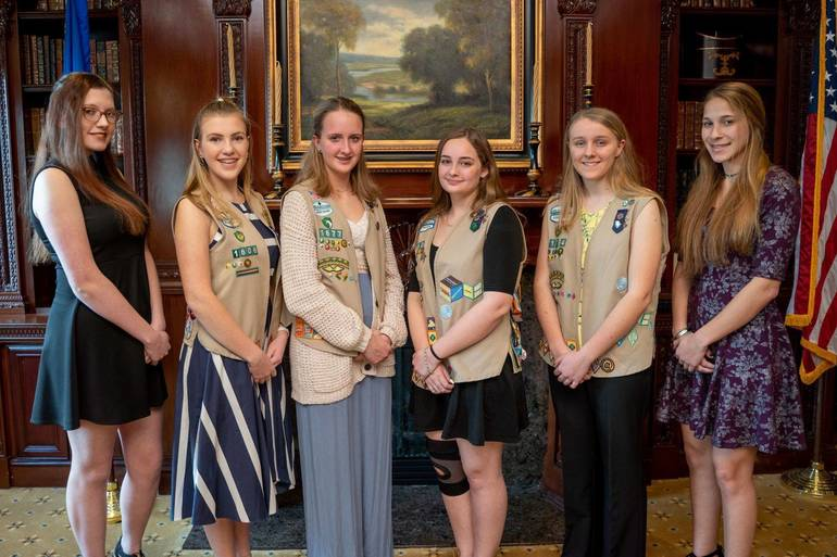 Girl Scout Presenters