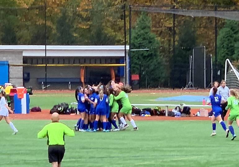 Girls soccer celebrates victory over Camden Catholic 2019 .jpg