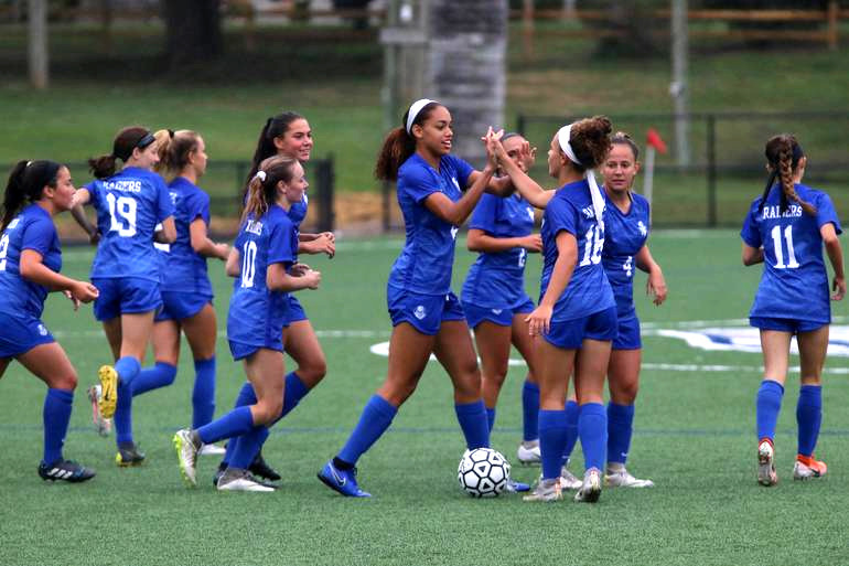 The Scotch Plains-Fanwood girls soccer team made it to the state finals in 2019.