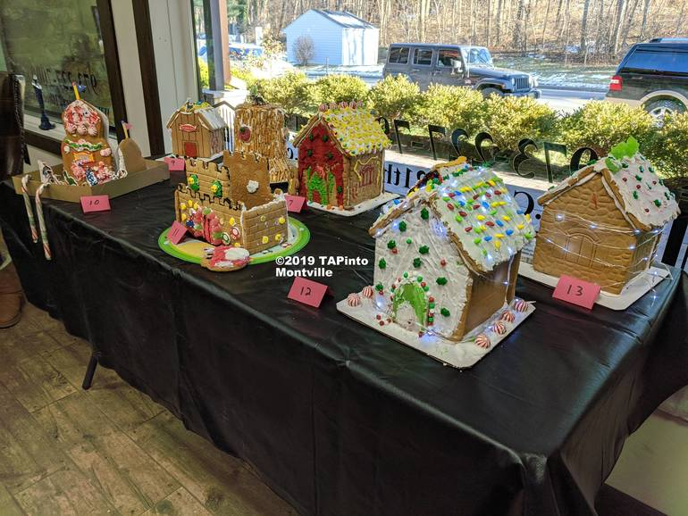 Gingerbread entries in the contest held by Century 21 ©2019 TAPinto Montville.jpg