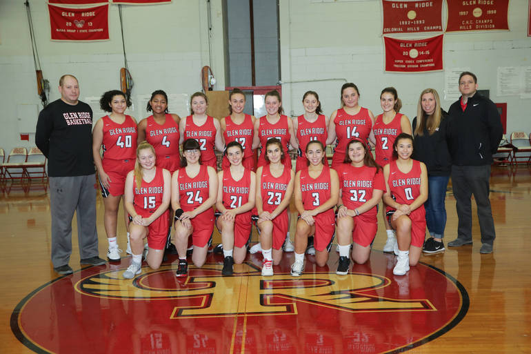 Glen Ridge High Girls' Basketball Team Looking Forward to the Start of a New Season, Beginning Jan. 28; Team Captains Olivia Carbonell, Jill Goffe and Elettra Giantomenico Doing a Tremendous Job